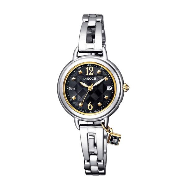 【2日20時~エントリーでポイント最大39倍!9日1時59分まで!】 国内正規品 CITIZEN シチズン Wicca ウィッカ ソーラーテック電波腕時計 レディース腕時計 送料無料 KL0-910-51