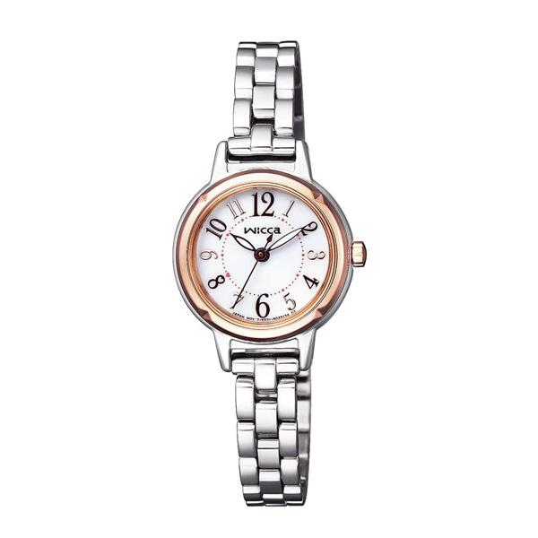 国内正規品 CITIZEN シチズン Wicca ウィッカ ソーラーテック レディース腕時計 送料無料 KP3-619-11