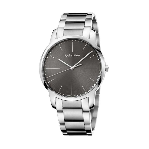 【2日20時~エントリーでポイント最大39倍!9日1時59分まで!】 Calvin Klein カルバン・クライン ウォッチ city 【国内正規品・送料無料】 腕時計 メンズ K2G2G1Z3 グレー