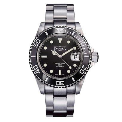 【2日20時~10%OFFクーポン+エントリーでポイント最大25倍!9日1時59分まで!】 DAVOSA ダボサ テルノス セラミック 自動巻き メンズ腕時計 あす楽 送料無料 161.555.50