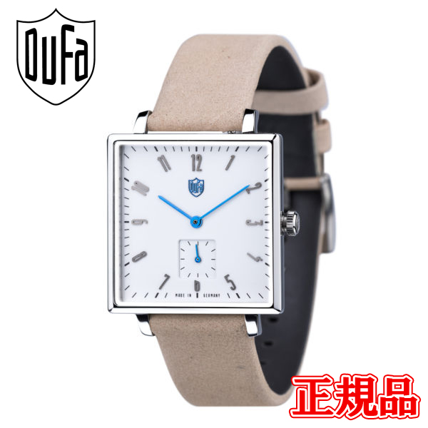 送料無料 DUFA ドゥッファ 正規品 時計 腕時計 専用箱 メンズ腕時計 秀逸 ラッピング無料 GROPIUS 直輸入品激安 SQUARE DF-9025-01 バレンタイン クォーツ