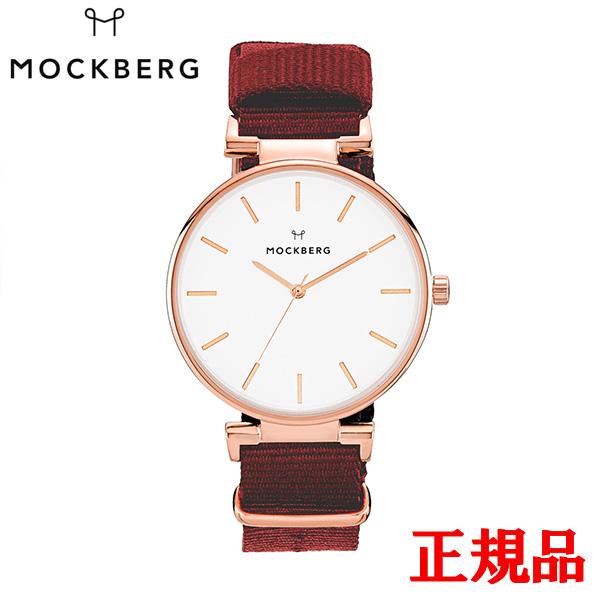 送料無料 MOCKBERG モックバーグ 正規品 時計 腕時計 専用箱 MO614 エントリーでポイント最大39倍 Modest AL完売しました。 24日1時59分まで Red Nato Rosegold 評価 モデスト レディース腕時計 34mm ナト