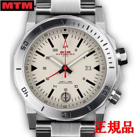 【2日20時~エントリーでポイント最大39倍!9日1時59分まで!】 MTM エムティーエム H-61 Silver-Tan Dial メンズ腕時計 クォーツ 送料無料 H61-SSL-TAN1-MBSS