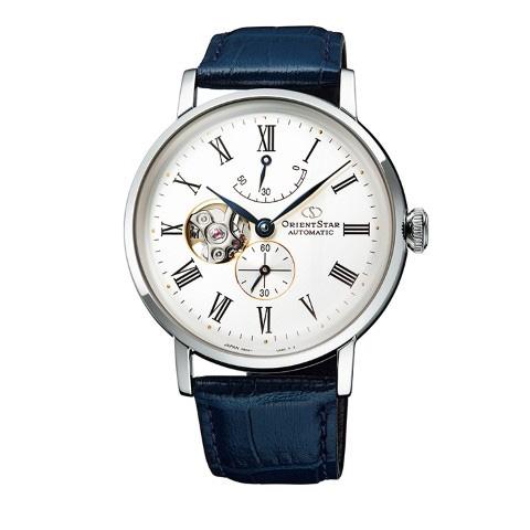 【ポイント最大38倍!9日20時~16日1時59分まで!】 ORIENT STAR オリエントスター CLASSIC SEMI SKELETON 自動巻き 手巻き付 メンズ腕時計  RK-AV0003S