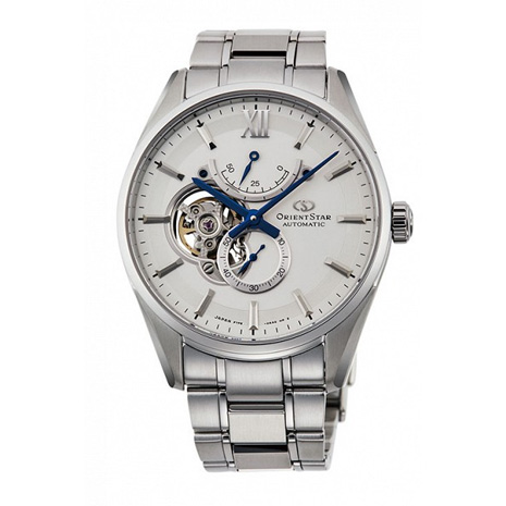 ORIENT STAR オリエントスター SLIM SKELETON 自動巻き 手巻き付 メンズ腕時計  RK-HJ0001S