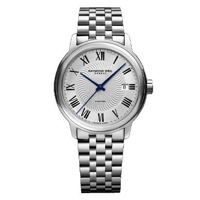 RAYMOND WEIL レイモンド・ウェイル マエストロ デイデイト 自動巻き メンズ腕時計 ステンレススチール 国内正規品 送料無料 2237-ST-00659