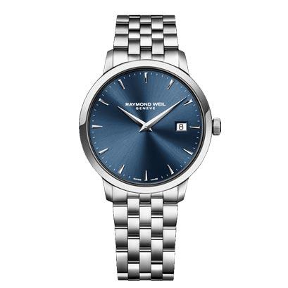 【大決算セール】10%OFFクーポン! RAYMOND WEIL レイモンド・ウェイル トッカータ クォーツ メンズ腕時計 ステンレススチール 国内正規品  5488-ST-50001
