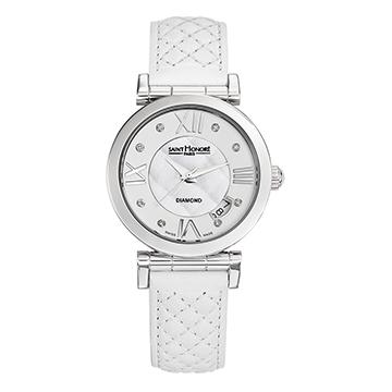 【送料無料】 国内正規品 SAINT HONORE サントノーレ Opera Damier 33mm レディース腕時計 SN7520111BM8DN【新品】