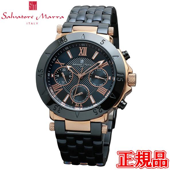 半額 送料無料 Salvatore Marra サルバトーレマーラ 品質検査済 クォーツ 正規品 専用箱 オーバーのアイテム取扱☆ 24日1時59分まで 時計 腕時計 メンズ腕時計 エントリーでポイント最大39倍 SM14118-PGNV