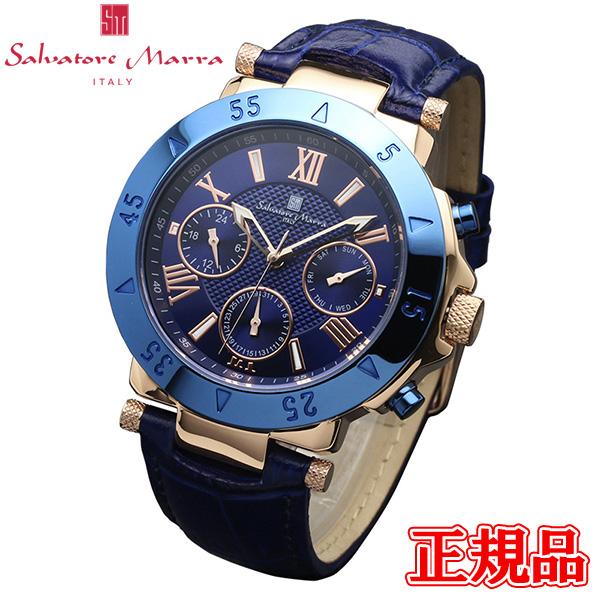 公式ストア 半額 送料無料 Salvatore Marra サルバトーレマーラ クォーツ 正規品 エントリーでポイント最大39倍 SM14118S-PGBL 国内正規総代理店アイテム 24日1時59分まで 専用箱 時計 メンズ腕時計 腕時計