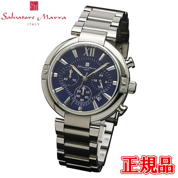 Salvatore Marra サルバトーレマーラ クオーツ メンズ腕時計 クロノグラフ 送料無料 SM17106-SSBL