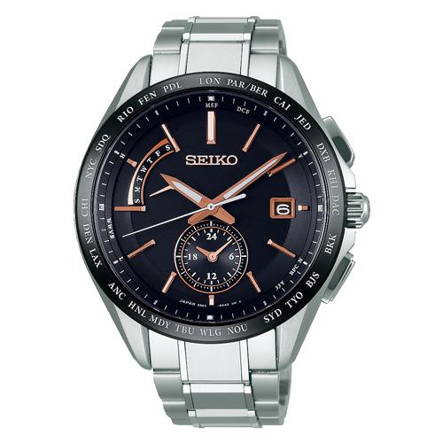 【2日20時~エントリーでポイント最大39倍!9日1時59分まで!】 【送料無料】セイコー ブライツ ソーラー電波時計  メンズ腕時計 SAGA243