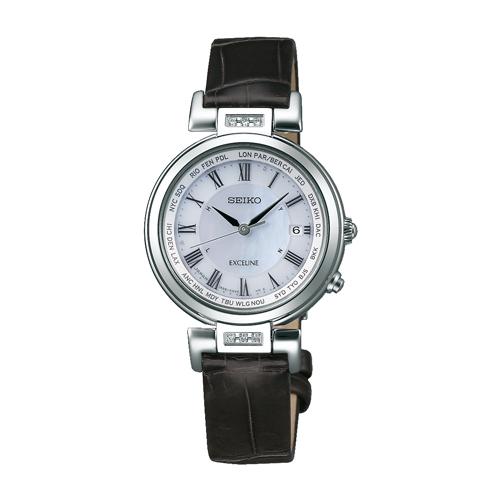 セイコー ドルチェ&エクセリーヌ ソーラー電波 レディース腕時計 SWCW109