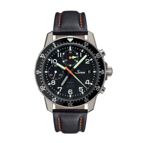 Domestic regular article Sinn gin Instrument Chronographs 103 men's watch 103 .TI.UTC.IFR