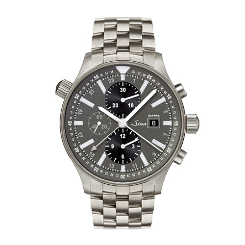 Domestic regular article Sinn gin Instrument Chronographs 900 men's watch 900 .DIAPAL