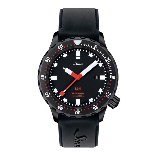 【ポイント最大38倍!11日20時~18日1時59分まで!】 国内正規品【24回払いまで無金利】 【送料無料】 Sinn ジン Diving Watches U1 メンズ腕時計 U1.S【新品】