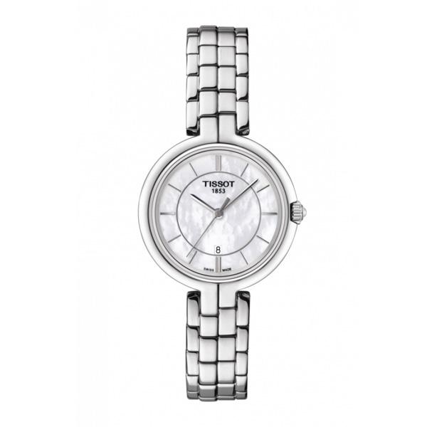 TISSOT ティソ フラミンゴ レディース腕時計 クォーツ 送料無料 T094.210.11.111.00