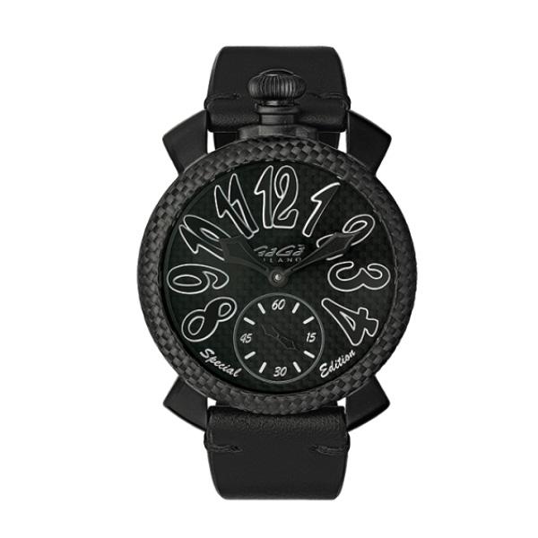 【24回払いまで無金利】 国内正規品 GAGA MILANO ガガミラノ MANUALE 48MM SPECIAL EDITION 手巻き メンズ腕時計 送料無料 5016.sp.01