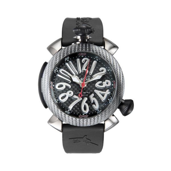 【4日20時~エントリーでポイント最大39倍!11日1時59分まで!】 【24回払いまで無金利】 国内正規品 GAGA MILANO ガガミラノ Diving 48mm 自動巻き メンズ腕時計 送料無料 5048