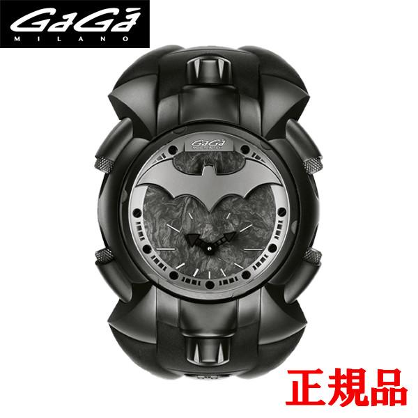 【2日20時~エントリーでポイント最大39倍!9日1時59分まで!】 【ガガミラノ】 GAGA MILANO ガガミラノ MANUALE 48MM Batman バットマン クォーツ メンズ腕時計 送料無料 Batman 8000