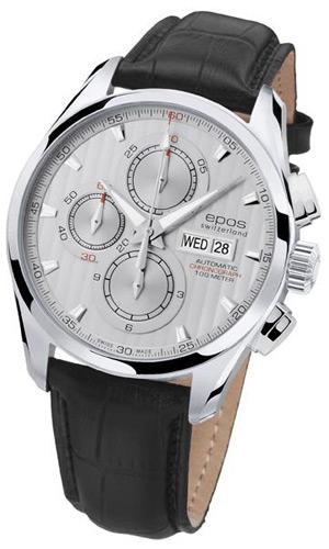 EPOS men's automatic self-winding chronograph passion 3406 SL fs3gm