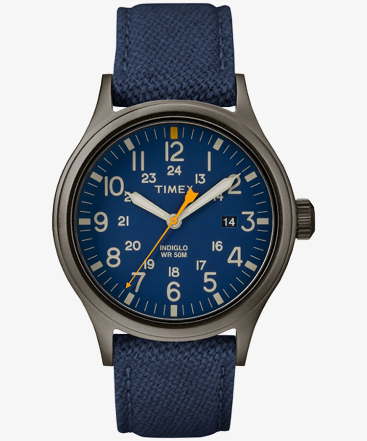 【2日20時~エントリーでポイント最大39倍!9日1時59分まで!】 TIMEX タイメックス メンズコア クォーツ メンズ腕時計 アライド 40mm ブルー ファブリック TW2R46200