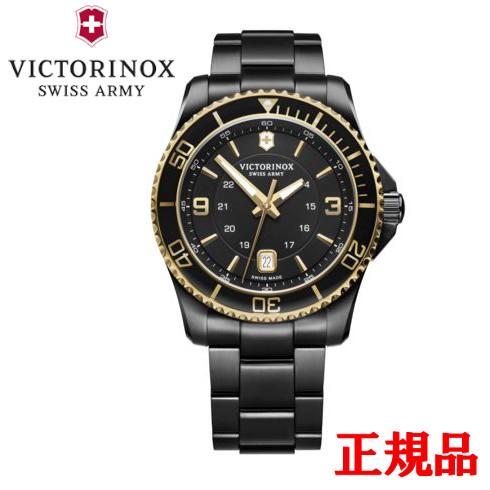 【2日20時~エントリーでポイント最大39倍!9日1時59分まで!】 【ビクトリノックス】 VICTORINOX ビクトリノックス Maverick Large メンズ腕時計 クォーツ 送料無料 241884