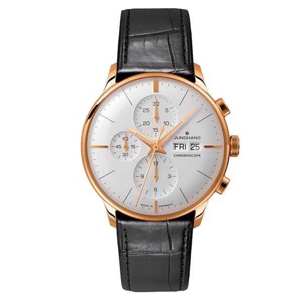 国内正規品 ユンハンス Meister Chronoscope メンズ腕時計 027 7323 01 【新品】