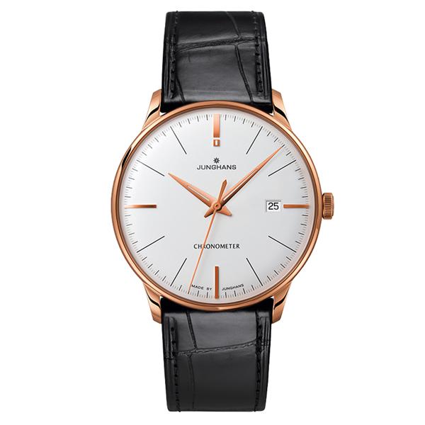 【送料無料】 国内正規品 ユンハンス Meister Chronometer メンズ腕時計 027 7333 00 【新品】