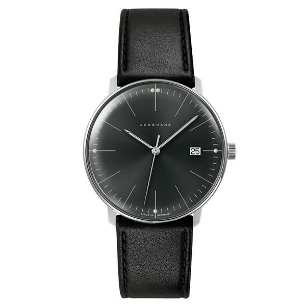 【送料無料】 国内正規品 ユンハンス Max Bill Quartz メンズ腕時計 041 4465 00 【新品】