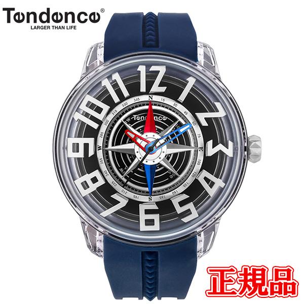 【2日20時~10%OFFクーポン+エントリーでポイント最大25倍!9日1時59分まで!】 正規品 TENDENCE テンデンス KingDome キングドーム クォーツ メンズ 腕時計 送料無料 TY023006-NV