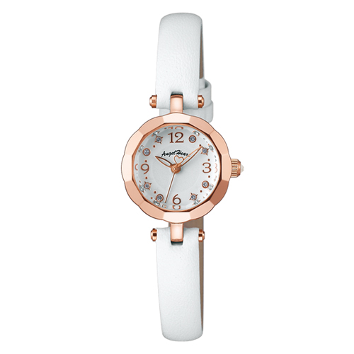 【2日20時~エントリーでポイント最大39倍!9日1時59分まで!】 【送料無料】 Angel Heart [ エンジェルハート ] Brilliant Flower レディース腕時計 BF21P-WH【新品】
