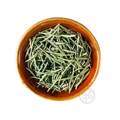 ネコポス可 時間指定不可 天然ハーブのフレーバー緑茶で健康に お試しに最適な30g 春の新作 ローズマリーが香る緑茶 リーフ30g 約15杯分