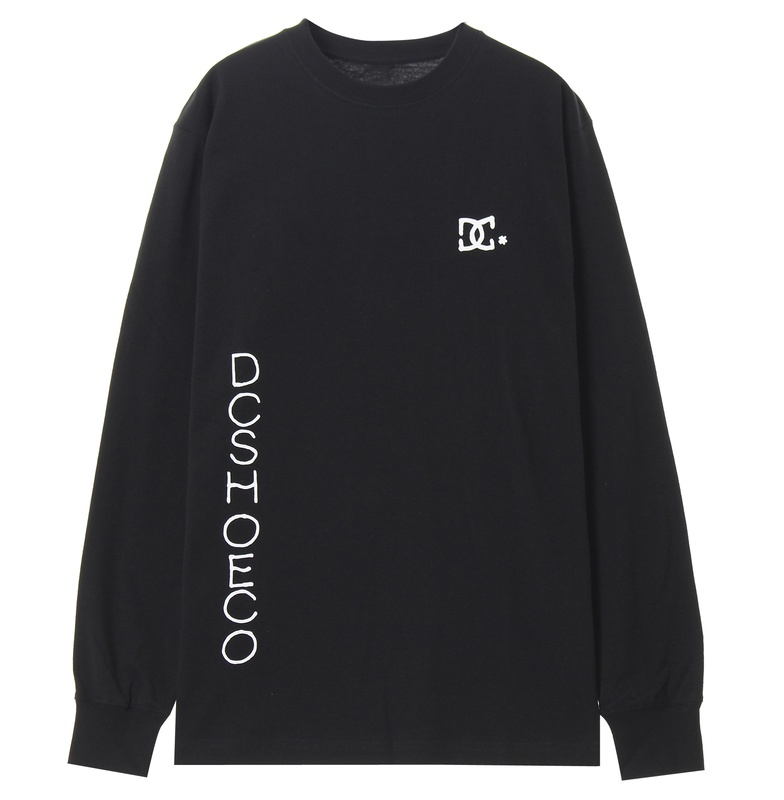 ディーシーシューズ DC SHOES  20 GLAPHICS BASIC LS Mens T-shirts 【5425J034 BK1】:QUIKSILVER ONLINE STORE