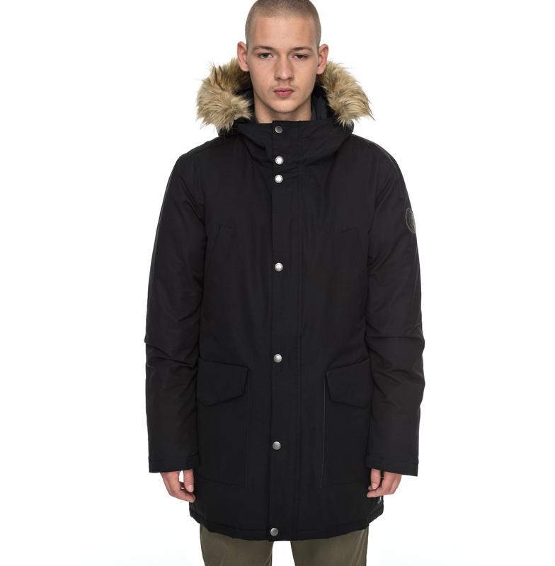 アウトレット価格 DC ディーシー シューズ フーデッドジャケット アウター ヘビージャケット 冬物 上着 防寒