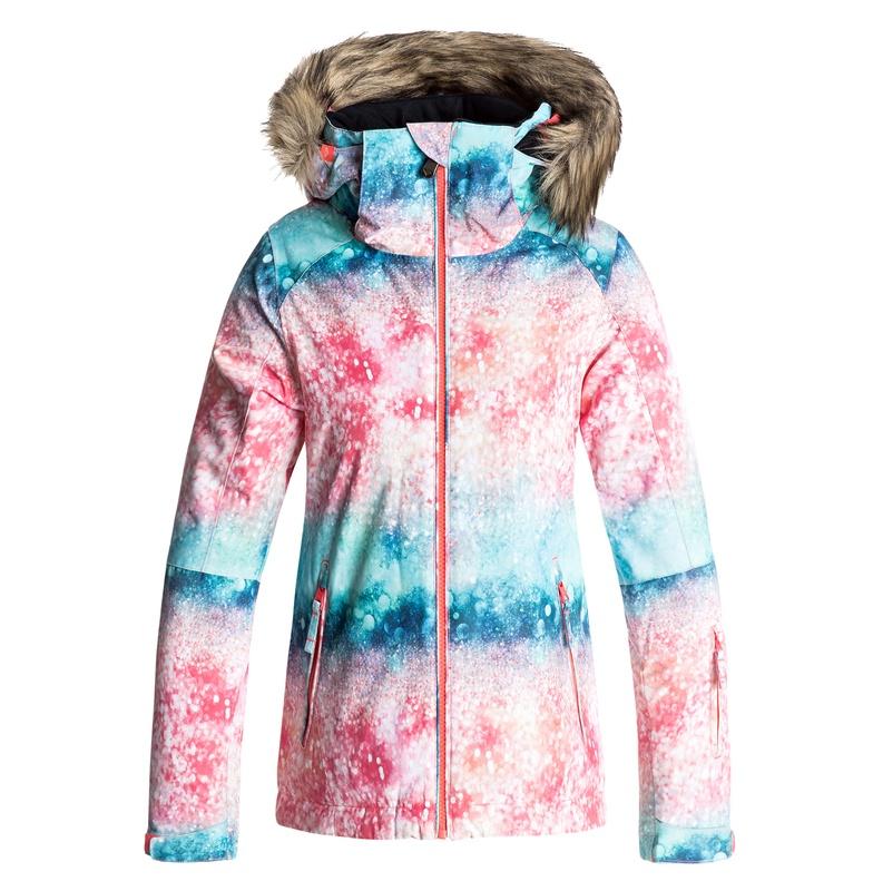 ロキシー(ROXY) ガール スリムフィットスノボ/ スキー ジャケット (130-150) 【ERGTJ03034 NKN8】