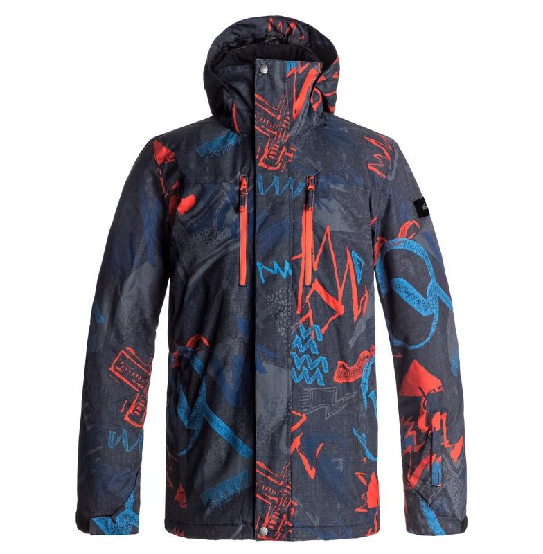 クイックシルバー (QUIKSILVER) 10K スノボ/ スキー ジャケット(モダンフィット)MISSION PRINTED NP JACKET【EQYTJ03150 NMS7】