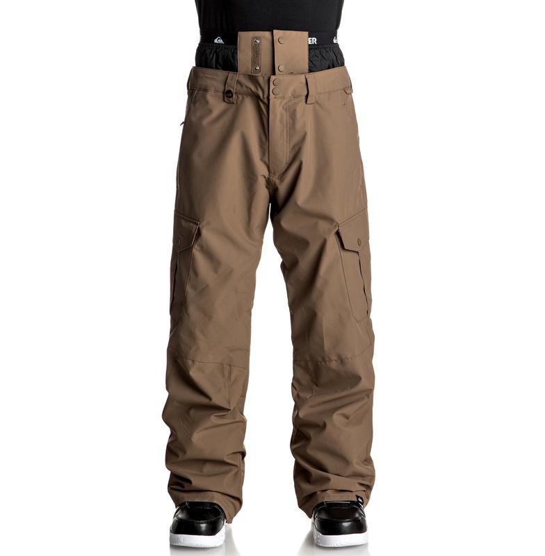 クイックシルバー (QUIKSILVER) 10K スノボ/ スキー パンツ(レギュラーフィット)PORTER SHELL GAITER PANT【EQYTP03061 CPV0】
