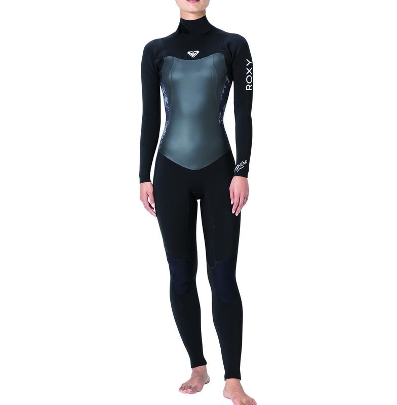 ロキシー ROXY  3/2 mm バックジップ フルスーツ Full suits 【RWT181916 BLK】