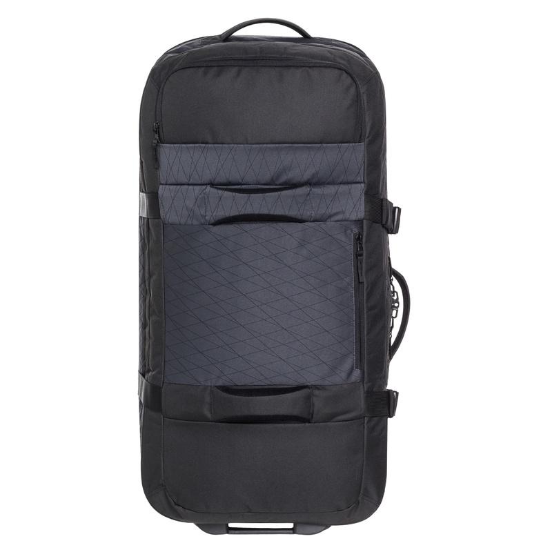 クイックシルバー QUIKSILVER  NEW REACH トラベルバッグ 旅行 海外 飛行機 スーツケース 【EQYBL03139 BLK】