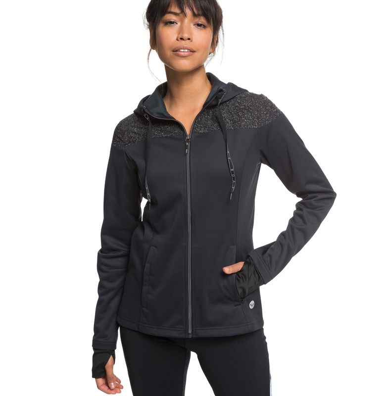 セール SALE ROXY ロキシー フィットネス 撥水 防風 ジャケット BIG FREEZE JACKET ライトジャケット アウター トレーニング ヨガ スポーツウェア