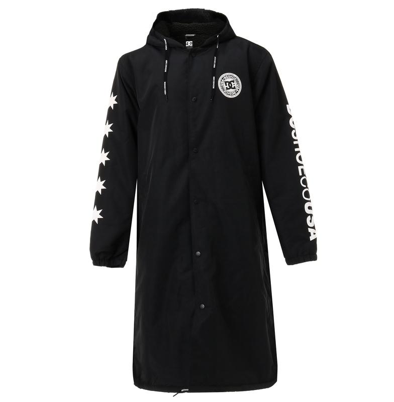 セール SALE DC ディーシー シューズ メンズ 撥水 ベンチ ジャケット アウター ヘビージャケット 冬物 上着 防寒