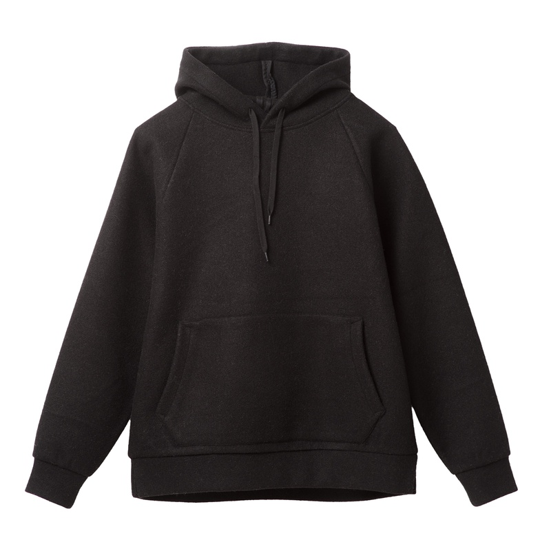 ディーシーシューズ DC SHOES  18 DCBA BOUCLE HOODED Hoodie Pullover 【5420J859 BLK】