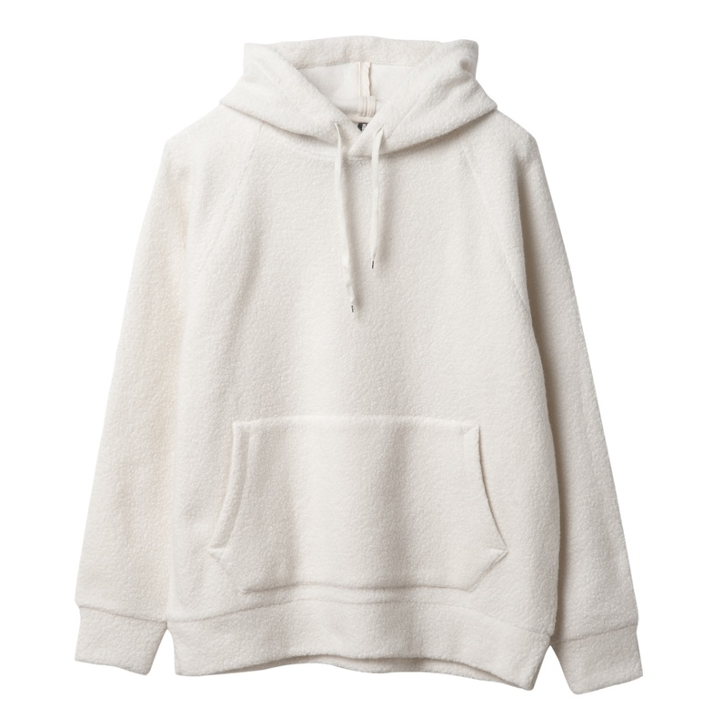 ディーシーシューズ DC SHOES  18 DCBA BOUCLE HOODED Hoodie Pullover 【5420J859 LGR】