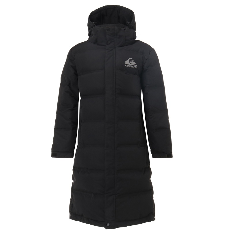 アウトレット価格 Quiksilver クイックシルバー メンズ ロング ダウン ジャケット アウター ヘビージャケット 冬物 上着 防寒