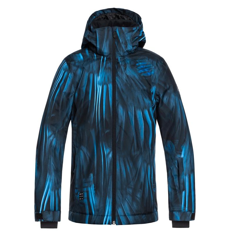 アウトレット価格 Quiksilver クイックシルバー MISSION PRINTED YOUTH JK スキー スノボー ジャケット アウター ウェア ウィンタースポーツ