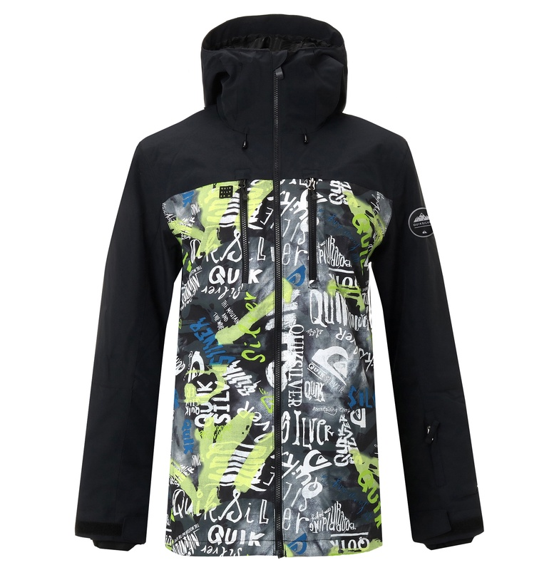 クイックシルバー QUIKSILVER  MISSION BLOCK JK NP スキー スノボー ジャケット アウター ウェア ウエア ウィンタースポーツ 【EQYTJ03195 KVJ5】