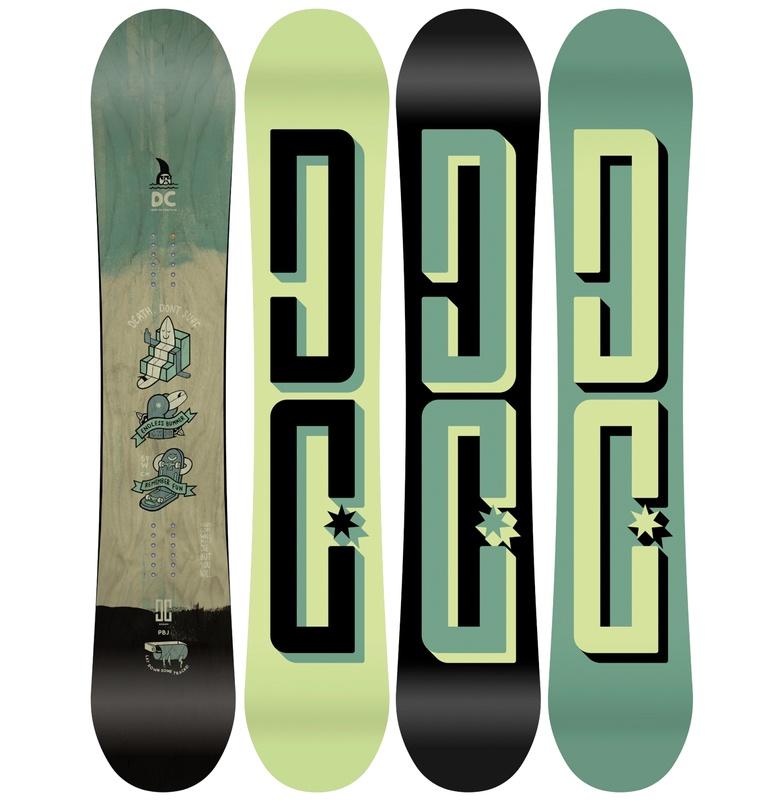ディーシーシューズ DC SHOES  PBJ Snowboards 【ADYSB03028 MUL】