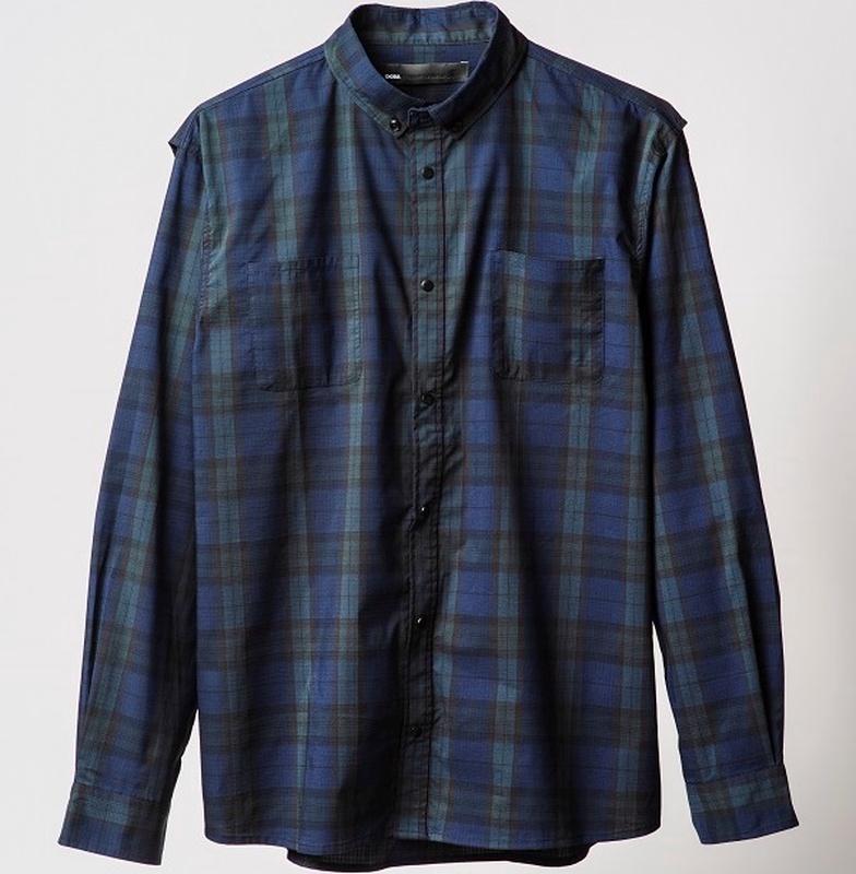 ディーシーシューズ DC SHOES  DCBA 19 CHECK SHIRT LS Shirts 【5120J961 BLW】
