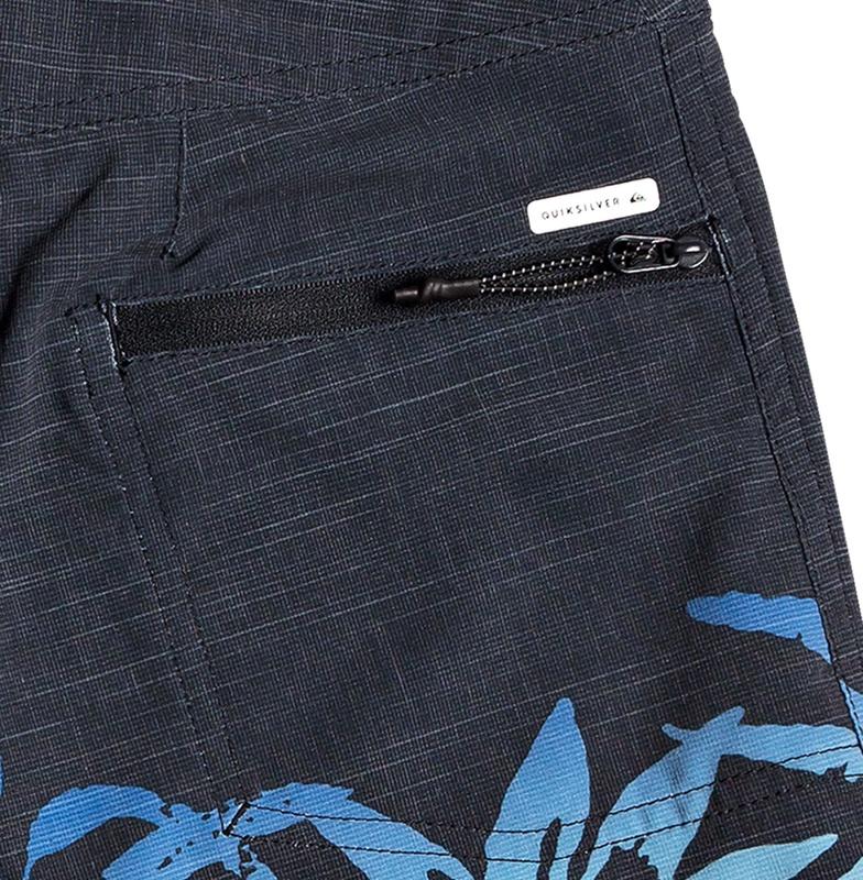 Quiksilver Mens Shorts Plaid Print Regular Fit Board Surf